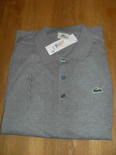 Lacoste Alligator Long Sleeve Cotton Polo Shirt SIZE 5 M - L  41 - 43 INCH Chest