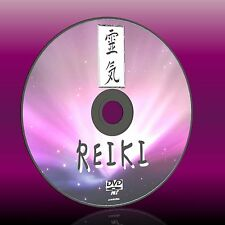 LEARN REIKI HEALING SKILLS DVD FOR BEGINNERS RELAXING THERAPY FOR BODY/ MIND NEW