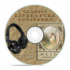 HEIDI, BY JOHANNA SPYRI, ON MP3 CLASSIC AUDIOBOOK LITERATURE CD-A39