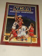 1986 NCAA Basketball Tournament Southeast Regional Program Kentucky,LSU,Ga.Tech