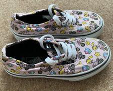 Boys Girls Vans Super Mario Kart Shoes - UK Size 11