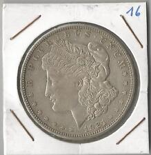 MORGAN ONE DOLLAR 1921D- SILVER-VERY FINE