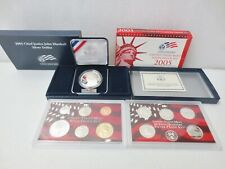 Lot of SILVER COINS 2005 Chief John Marshall + 2005 US Mint Proof Sets