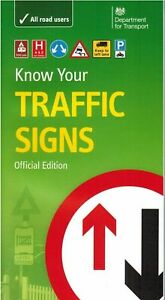 LATEST DVSA DVLA OFFICIAL KNOW YOUR TRAFFIC SIGNS PAPERBACK BOOK 2020 Trfc *TRFC