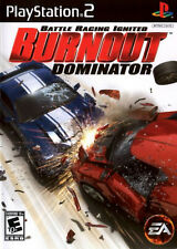 EA Burnout Dominator Battle Racing Ignited PS2 Sony Playstation 2 Video Game
