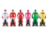 MINT BANDAI Kaizoku Sentai Gokaiger Ranger Key Power Rangers Set from Japan
