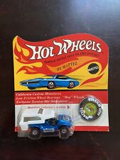 1969 HOT WHEELS RED LINE POWER PAD SPECTRAFLAME BLUE, SEALED ON BLISTER CARD