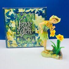 Faerie Glen figurine fairy statue nib box Jonquilla FG833 munro sun flower elf