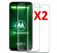 2 x Tempered Glass Screen Protector For Motorola Moto G7 POWER CASE FRIENDLY