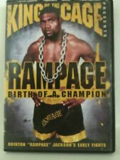 King of the Cage - Rampage: Birth of a Champion (DVD, 2007)