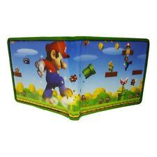 Oficial Super Mario Bros-Mario En Acción-Billetera Plegable