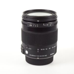 Sigma 18-200mm f/3.5-6.3 OS HSM DC 'C' Contemporary Canon EF-S Fit Lens
