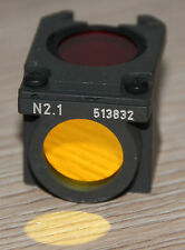 Leica/LEITZ MICROSCOPIO Microscope FILTRO cubo n2.1 (N. 513832) per fluorescenza