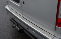 Chrome Bumper Sill Protector Trim Cover To Fit Ford Transit Connect (2002-12)