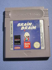 JEU NINTENDO GAME BOY @@ COLOR @@ ADVANCE @@ BRAIN DRAIN @@ TEST OK