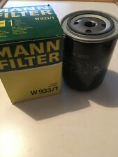 Mann Oil Filter W933/1 Spin On For Ford Nissan