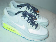 2012 Nike Air Max 90 White/Netural Gray/Volt Running Shoes! Size 5Y $120.00