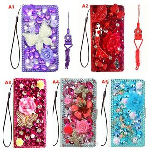 for OnePlus Nord N200 5G Case, Lady luxury Bling flip Wallet Leather phone cover