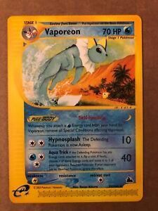 Pokemon Vaporeon 33/144 Skyridge NM See Pictures