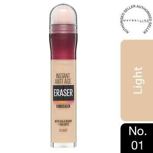 Maybelline Instant Age Rewind Anti Age Eraser Eye Concealer, 01 Light