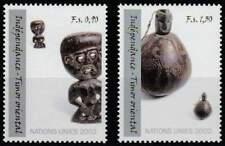 Nations Unies - Geneve postfris 2002 MNH 438-439 - Oost-Timor Onafhankelijk