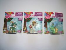 My Little Pony Friendship is Magic Collector Figures Apple Strudel/Munchies/Flam