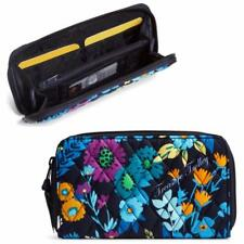 NWT Vera Bradley Midnight Blues Accordion Wallet iPhones 6 and 7 Free Shipping