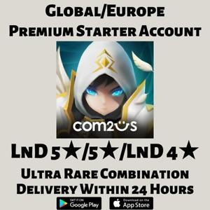 [GLOBAL/EUROPE] SUMMONERS WAR LND 5 NAT 5 LND 4 PREMIUM COMBO STARTER ACCOUNT
