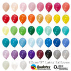 """60+ COLOURS 12CM/5"""" MINI LATEX BALLOONS 10-PACK BIRTHDAY PARTY WEDDING BABY"""