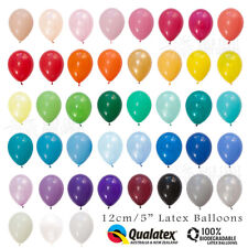 "60+ COLOURS 12CM/5"" MINI LATEX BALLOONS 10-PACK BIRTHDAY PARTY WEDDING BABY"