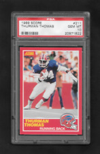 "1989 Score #211 Thurman Thomas ""ROOKIE"" PSA 10 Gem Mint !!!!!!!!!!!!"