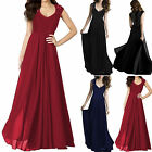 Womens Lace Chiffon Formal Party Ballgown Cocktail Bridesmaid Long Maxi Dress
