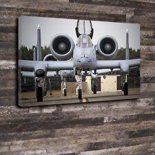 """A-10 Warthog Printed Box Canvas A1.30""""x20""""-Deep 30mm Frame Airplane Aircraft"""