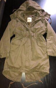 Monkl Womens Oversized Padded Parka Coat XS 6-10