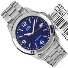 Orologio Da Polso CASIO MTP-1215A-2ADF Analogico Uomo Acciaio Data Q Blu lac