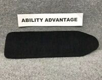 "NEW: Permobil 12"" CORPUS ll ARMREST ARMPAD INSERT in BLACK CLOTH FABRIC. NEW !!!"