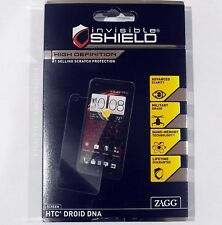 New Zagg InvisibleShield HD Screen Cover Protector Clear Film for HTC Droid DNA
