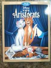 Disney's The Aristocats (Blu-Ray/DVD) Including Slipcover