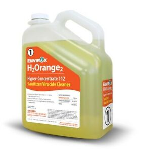 Envirox H2 Orange2 Concentrate 112, 2 Gallon Case! (2 Gallons In the box)