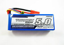 TURNIGY Lipo Battery 4S 25C-35C 5A 5000mAh 14.8v Lithium Polymer Pack 4 Cell J5