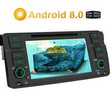Pumpkin Android 8.0 Autoradio GPS Navi DVD DAB Bluetooth OBD2 Für BMW 3er E46 M3