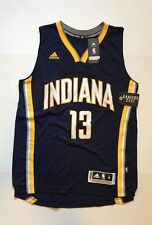 """adidas NBA Indiana Jersey Pacers Paul George13 Navy Mens Size M+2"""""""