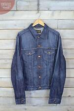 Vintage Wrangler Dark Blue Denim Jacket (XL)