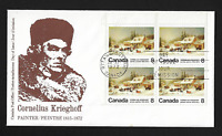 "Canada FDIC - 1972, ""The Blacksmith's Shop,"" by Krieghoff #610 - Lot AUG219"