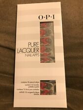 OPI Pure Lacquer Pink/Silver Lace Nail Apps