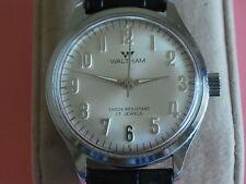 Nice Vintage WALTHAM 17J Manual Wind Men's Watch
