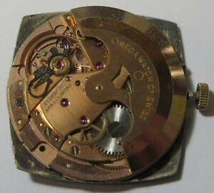 Vintage Omega De Ville Cal. 565 24 Jewels Watch Movement Parts, Repair, Restore