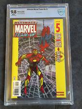 Ultimate Marvel Team Up #5 9.8 Cbcs Not Cgc First Black Nick Fury Rare Comic