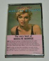 NICE Vintage The Very Best of Marilyn Monroe Cassette Tape NEON MINTY