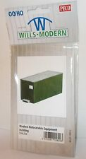 Wills SSM320 Modern Relocatable Equipment Building - OO Gauge